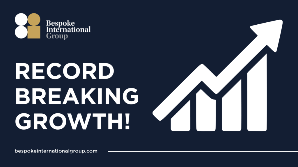 bespoke international group record breaking growth featured image blog press release